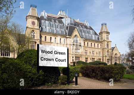 Wood Green Crown Court, London - Stock Photo
