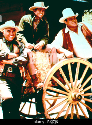 bonanza (tv) michael landon, dan blocker, lorne greene
