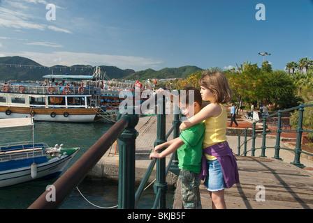 Marmaris Quay - Stock Photo