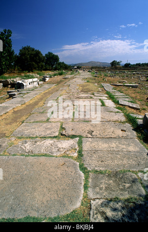 greece, northeastern aegean islands, samos, heraion - Stock Photo