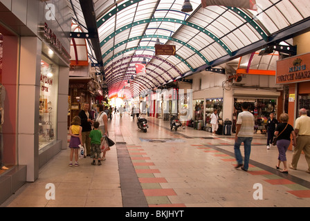 Shopping Centre in Marmaris Turkey - Stock Photo