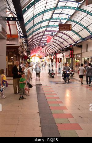 Shopping Center in Marmaris Turkey - Stock Photo