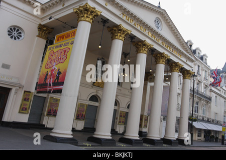 The Theatre Royal Haymarket,opened 4th July 1821. - Stock Photo