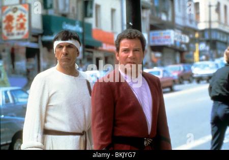 STAR TREK IV: THE VOYAGE HOME (1986) LEONARD NIMOY, WILLIAM SHATNER ST4 077 - Stock Photo