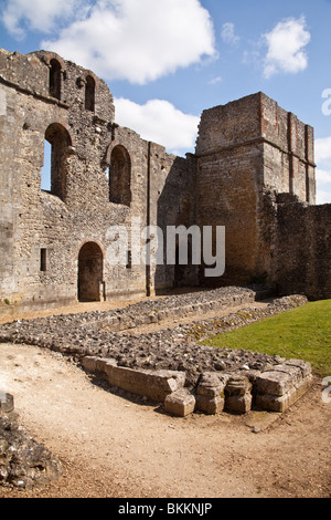 Wolvesey Castle, Winchester Hampshire, England. - Stock Photo