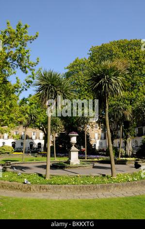 Canonbury Square Islington London England UK - Stock Photo