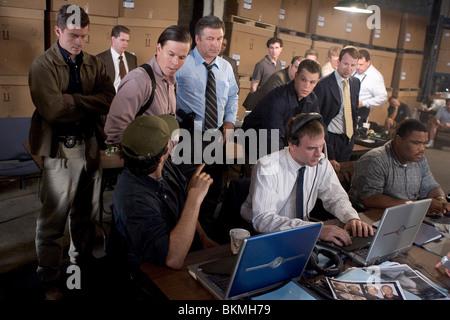 THE DEPARTED (2006) JAMES BADGE DALE, MARK WAHLBERG, ALEC BALDWIN, MATT DAMON, ANTHONY ANDERSON DPRT 001-031 - Stock Photo