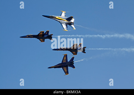 The United States Blue Angels - Stock Photo