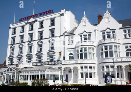 Westcliff Hotel, Southend, Essex - Stock Photo