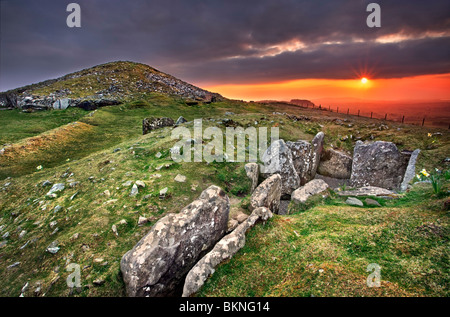 oldcastle county meath ireland loughcrew cairn l co meath ireland stock photo royalty free