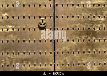 Metal Door,Cordoba - Stock Photo