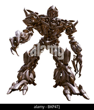 FILMING, O/S 'TRANSFORMERS (2007)' MEGATRON MICHAEL BAY (DIR) TRRS 001-30 MOVIESTORECOLLECTION LTD - Stock Photo