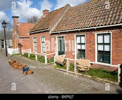 Zuiderzee museum, Enkhuizen, Netherlands - Stock Photo