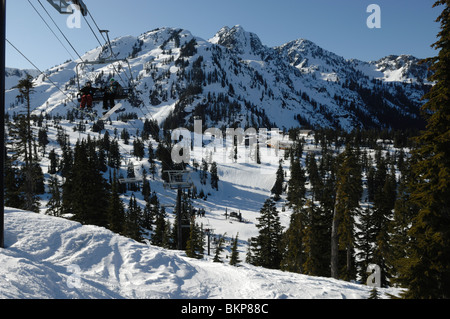 Lovely WA, Mount Baker Ski Area, White Salmon Lodge, and Mount Shuksan  LI32