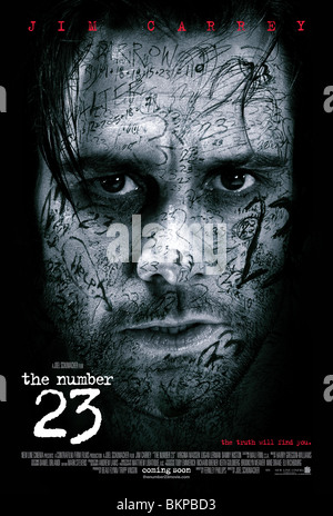 THE NUMBER 23 -2007 POSTER - Stock Photo