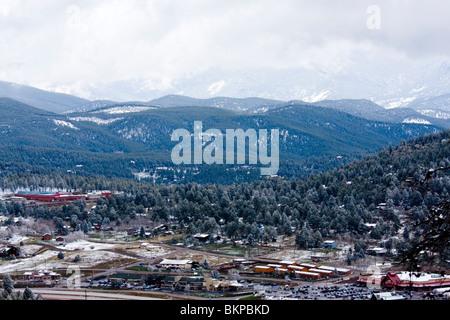Aspen Park / Conifer Colorado - Stock Photo