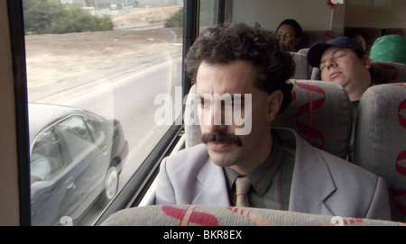 BORAT: CULTURAL LEARNINGS OF AMERICA FOR MAKE BENEFIT GLORIOUS NATION OF KAZAKHSTAN (2006) SACHA BARON COHEN LARRY - Stock Photo