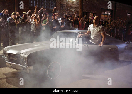 FAST AND FURIOUS (2009) VIN DIESEL JUSTIN LIN (DIR) 004 - Stock Photo