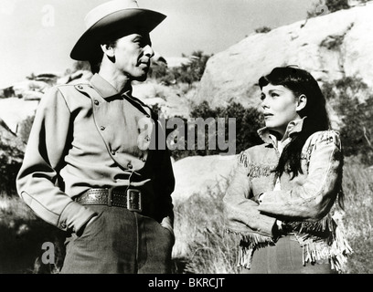 JOHNNY CONCHO (1956) FRANK SINATRA, PHYLLIS KIRK DON MCGUIRE (DIR) JCON 001P - Stock Photo