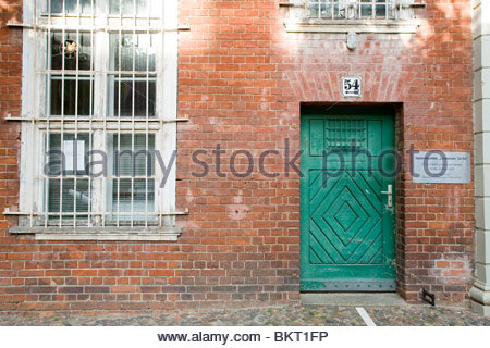 prison for political crimes during the DDR,now a museum,Lindenstrasse,Potsdam,Brandenburg,Germany - Stock Photo