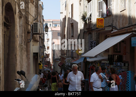 Bonifacio upper town - Stock Photo