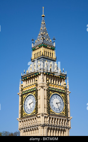 Big Ben model in Miniland at LEGOLAND Windsor - Stock Photo