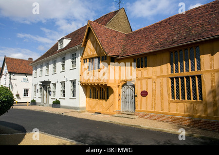 Little Hall in Lavenham - Stock Photo