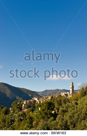 bussana vecchia,liguria,italy - Stock Photo