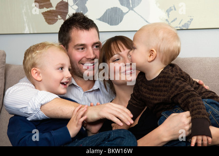 Family together - Stock Photo