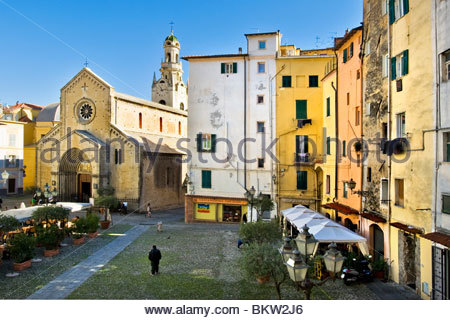 san siro cathedral,sanremo,liguria,italy - Stock Photo