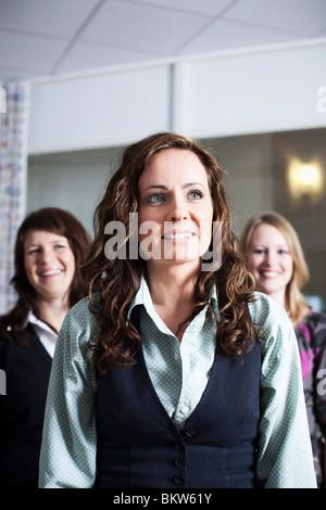 Three happy colleagues - Stock Photo