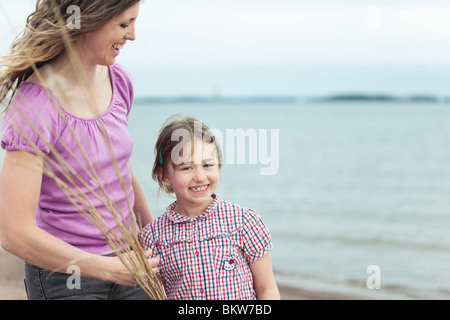 Woman and kid - Stock Photo