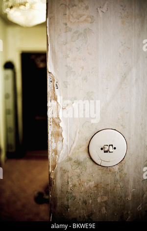 Closeup on toggle switch - Stock Photo
