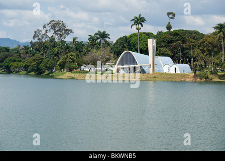 São Francisco de Assis church. Belo Horizonte, Brazil. Stock Photo