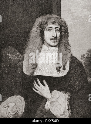 Anthony Ashley Cooper, 1st Earl of Shaftesbury 1621 to 1683. English politician during the Interregnum. - Stock Photo