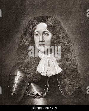 John Graham of Claverhouse, 1st Viscount Dundee, c.1648 to 1689. Scottish soldier, nobleman, Tory and Episcopalian. - Stock Photo