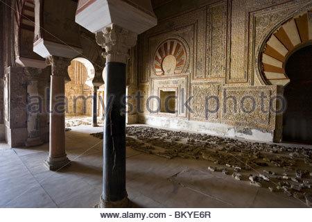 Medinat al-Zahra, residence of the andalusian Calif, Province Cordoba, Andalucia, Spain - Stock Photo
