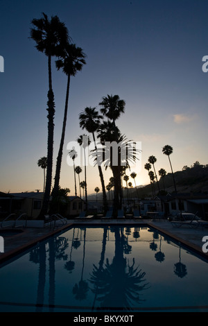 Pool At A Mobile Home Park Malibu Los Angeles County United States Of