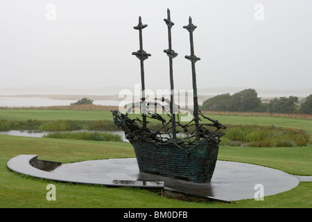 National Famine Memorial, Murrisk, County Mayo, Ireland - Stock Photo