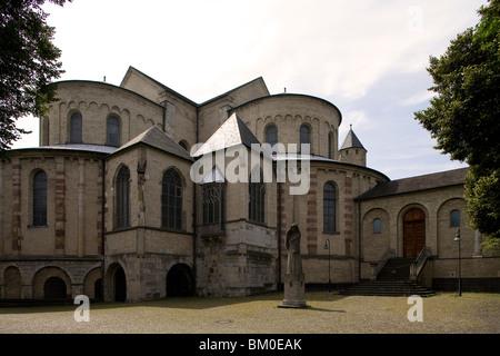 Church of St. Maria im Kapitol, Cologne, North Rhine Westphalia, Germany, Europe - Stock Photo