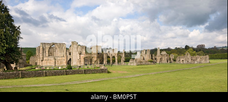 Easby Abbey near Richmond, North Yorkshire - Stock Photo