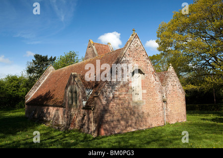 UK, England, Herefordshire, Kempley, 1904 Arts and Crafts Church of St Edward the Confessor - Stock Photo