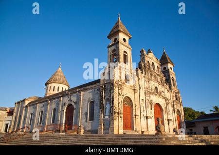 Iglesia de Guadalupe, Granada, Nicaragua, Central America - Stock Photo