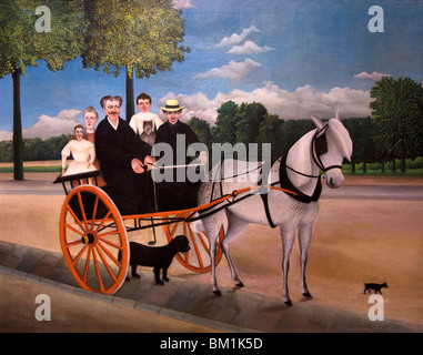 Old Man Juniets Trap Henri Rousseau Le Douanier oil on canvas painted 1908 Musee de lOrangerie Paris - Stock Photo