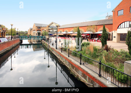 Chelmer Meadows shopping center in Chelmsford Essex - Stock Photo