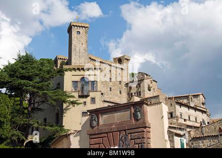 Bolsena Castle (Rocca Monaldeschi), Bolsena, Viterbo, Lazio, Italy, Europe - Stock Photo