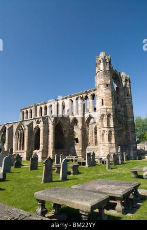 Elgin Cathedral, Elgin, Highlands, Scotland, United Kingdom, Europe - Stock Photo