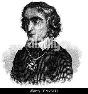 Friedrich Ludwig Zacharias Werner - Stock Photo