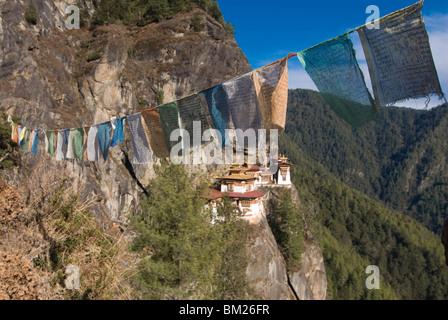 Tigers Nest Monastery (Taktshang Goempa), Bhutan - Stock Photo