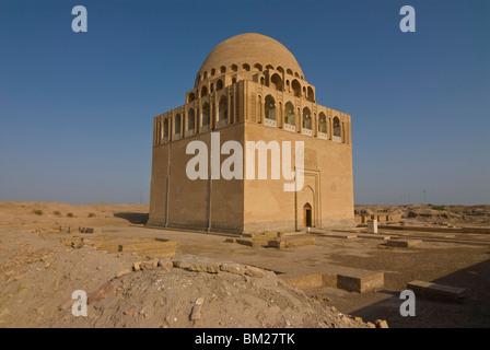 Mausoleum of Sultan Sanjar, Merv, UNESCO World Heritage Site, Turkmenistan, Central Asia, Asia - Stock Photo